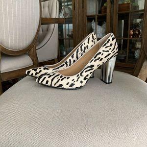 Donald J. Pliner Cowhide heels